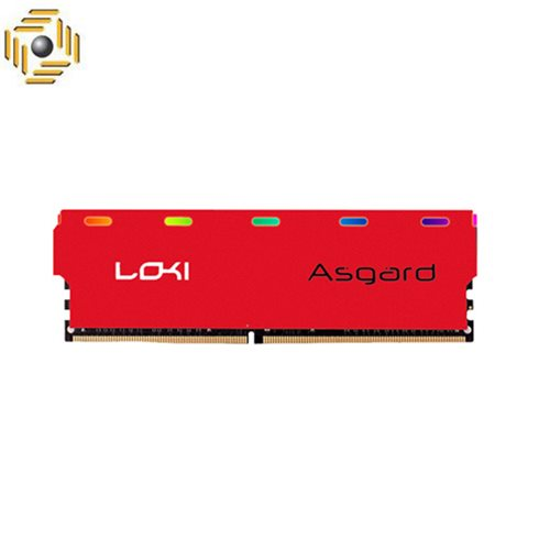 رم ازگارد LOKI W1 DDR4 16GB 3000MHZ RGB RED