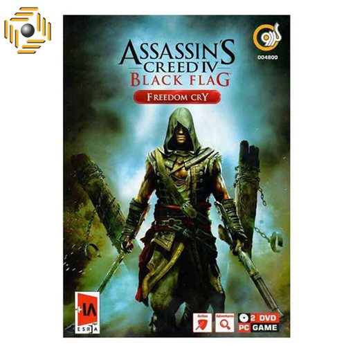 بازی کامپیوتری Assassins Creed IV Black Flag مخصوص PC