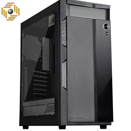 کیس سیلوراستون Precision Series SST-PS14B-EG