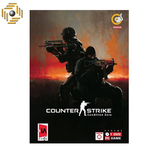 بازی Counter Strike Condition Zero Valt X Asli مخصوص PC